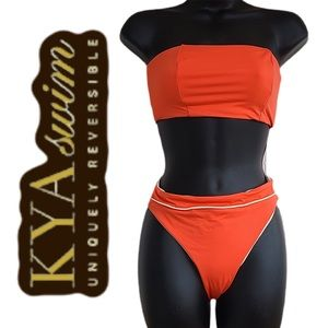 Kya Swim Reversible Swimsuit New With Tags